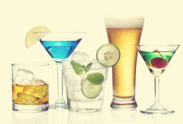 Spirits, beers & ciders…